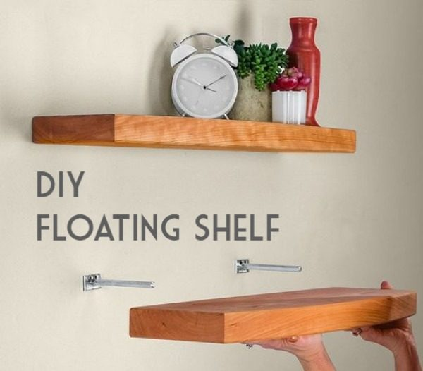 You have to see this tutorial on how to build  simple floating shelves
