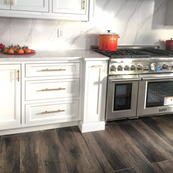 Check out this natural marble tile  and the brilliant . Love it!
