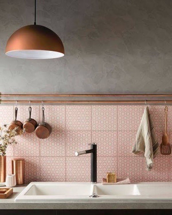 Check out this Morocco mosaic tile  and the brilliant . Love it!