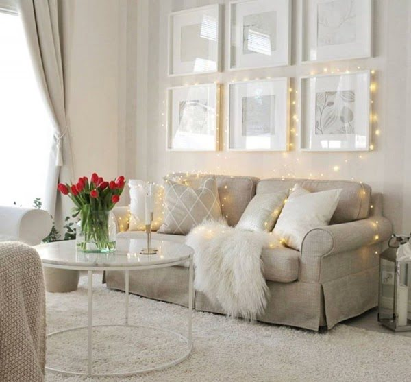 Neutral Palette Living Room Ideas