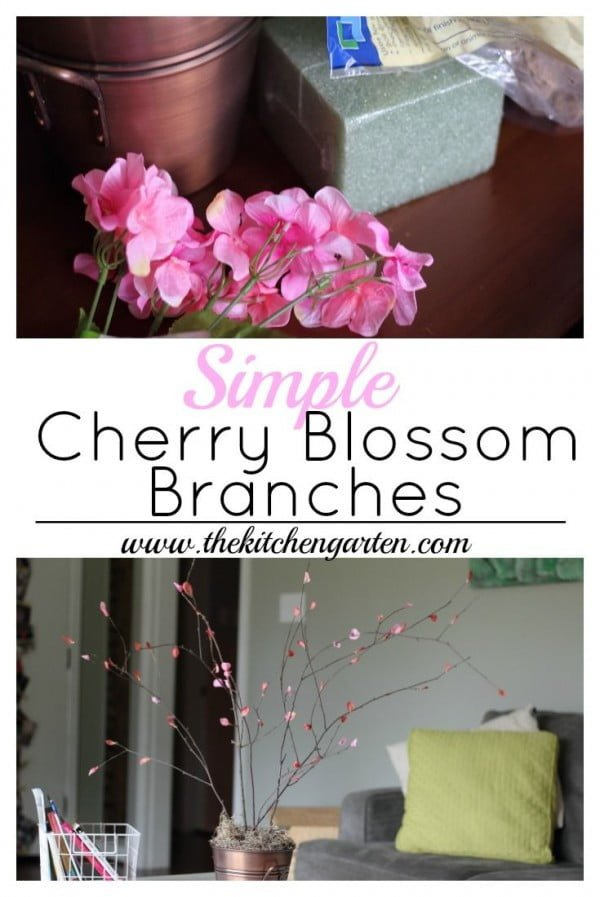 You have to see this tutorial on how to make #DIY cherry blossom branches for spring decor #HomeDecorIdeas