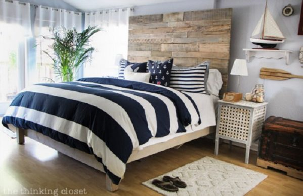 45 Easy DIY Bed Frame Projects You Can Build on a Budget - Check out the tutorial on how to make a  custom king size bed frame. Looks easy enough!