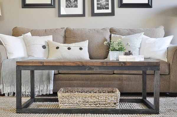 Industrial Coffee Table idea