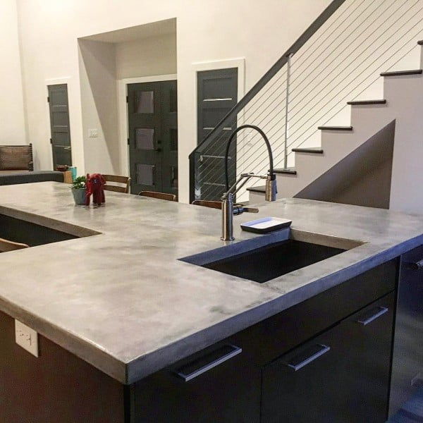 your to concrete interior inside incorporate home in best countertop the ways countertops kitchen using digsdigs
