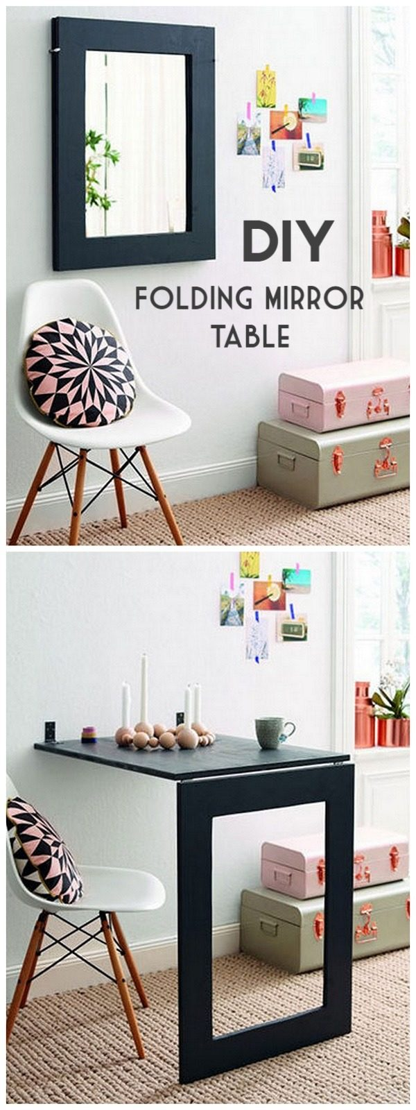 Check out the tutorial on how to make a #DIY table. Looks easy enough! #HomeDecorIdeas