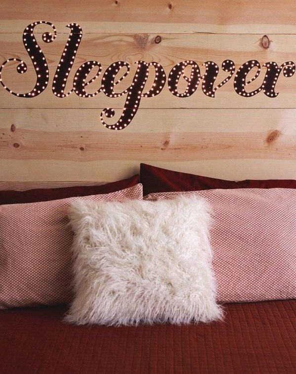 light it up DIY Headboards