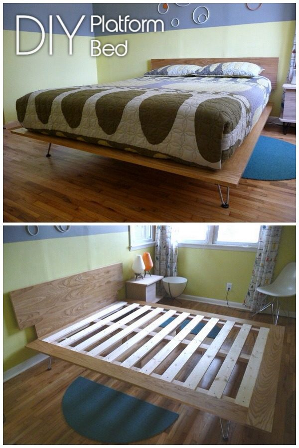 45 Easy DIY Bed Frame Projects You Can Build on a Budget
