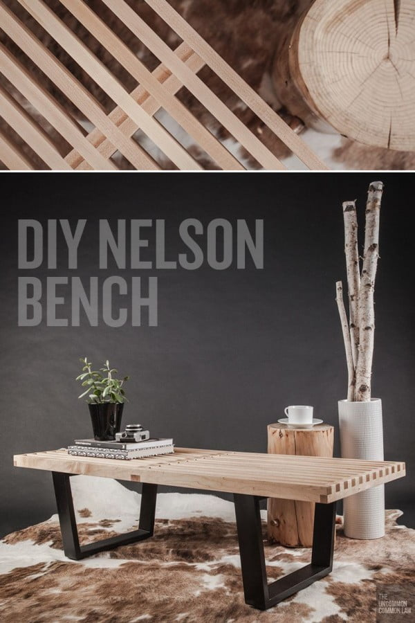Check out the tutorial on how to make a #DIY Nelson platform bench. Looks easy enough! #HomeDecorIdeas