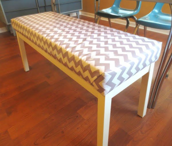 Check out the tutorial on how to make a #DIY IKEA hack bench. Looks easy enough! #HomeDecorIdeas