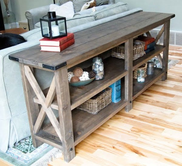 2x4 tv stand