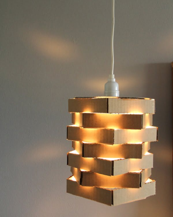Avant Garde DIY Pendant Chandelier #DIY #homedecor