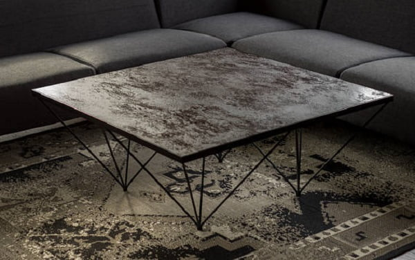 Modern Quartz Coffee Table