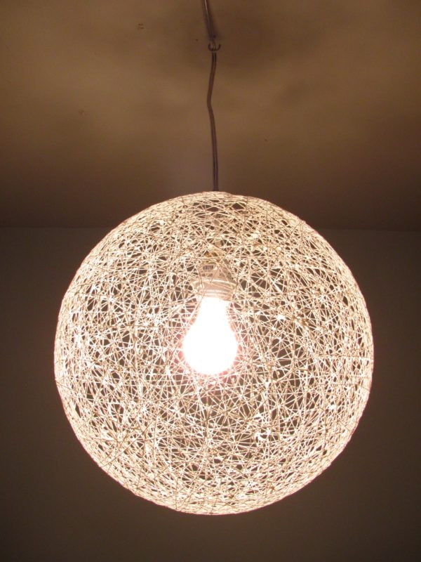 Amazing DIY String Chandelier
