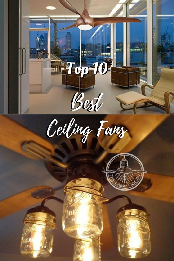 Top 10 Best Ceiling Fans in 2018 - the Ultimate Buyer's Guide