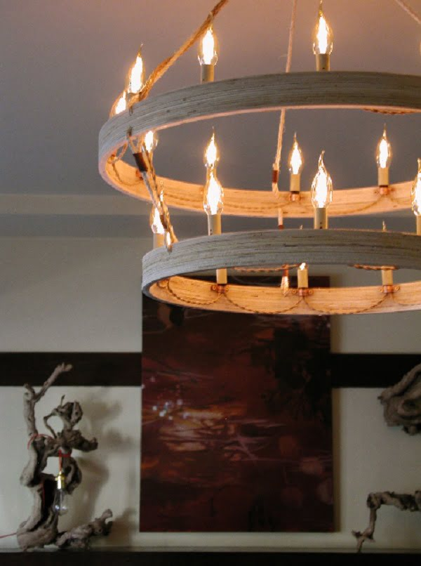 Imperial DIY Chandelier