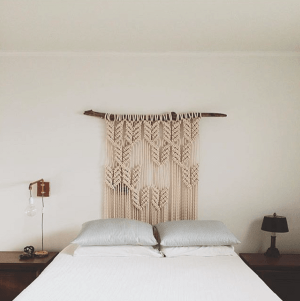 macrame hanging DIY Headboards