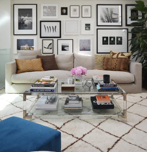 Decorate with a Modern Glass Coffee Table