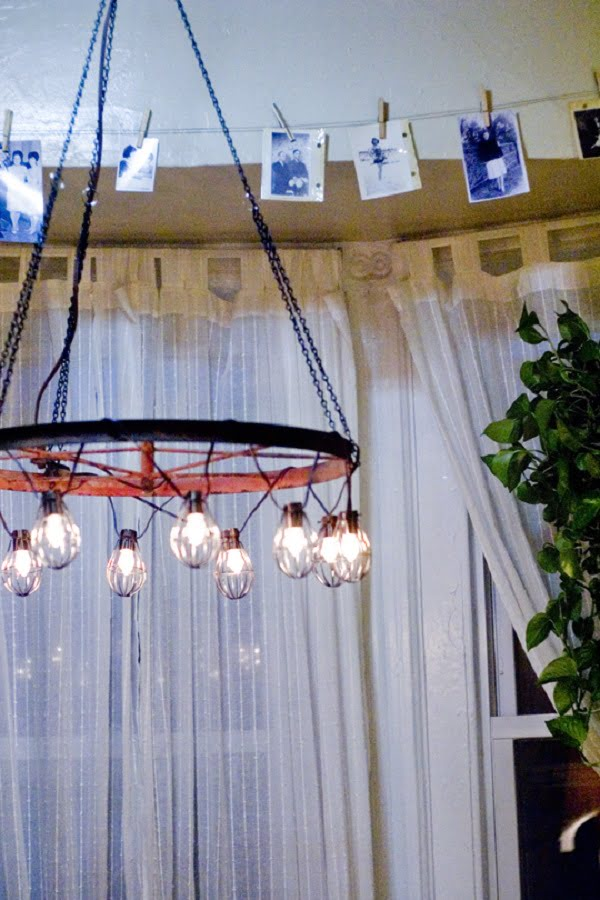 Outstanding and Fund DIY Chandelier