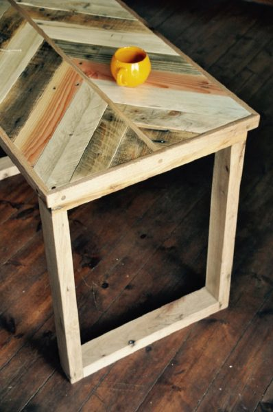 Best Rustic Desk - 7Magok Reclaimed Wood Desk
