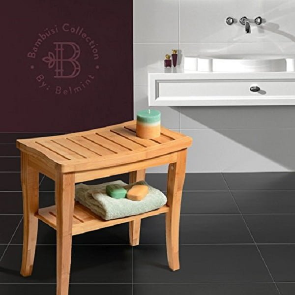 Bamboo Spa Shower Bench