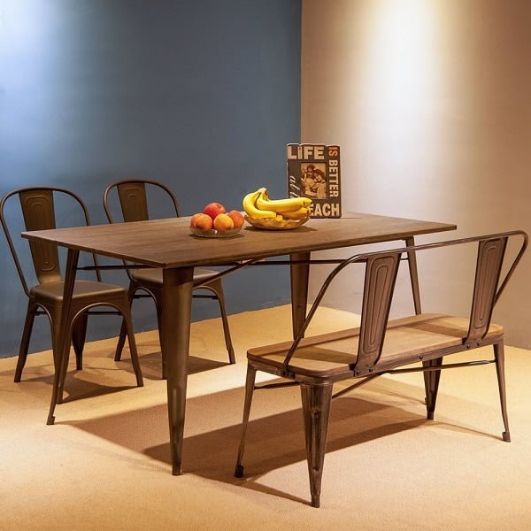 Merax Stylish Dining Table Bench