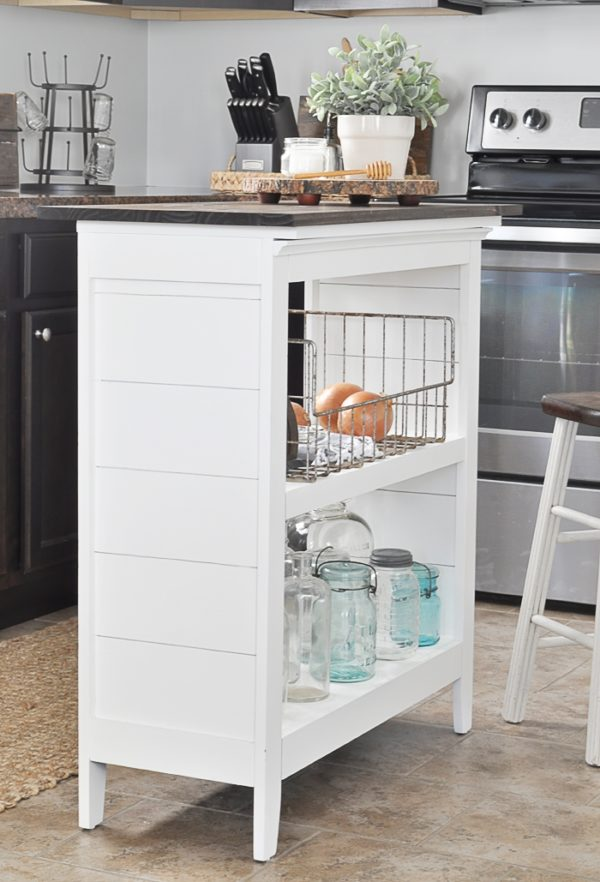 Bookshelf Kitchen Island
