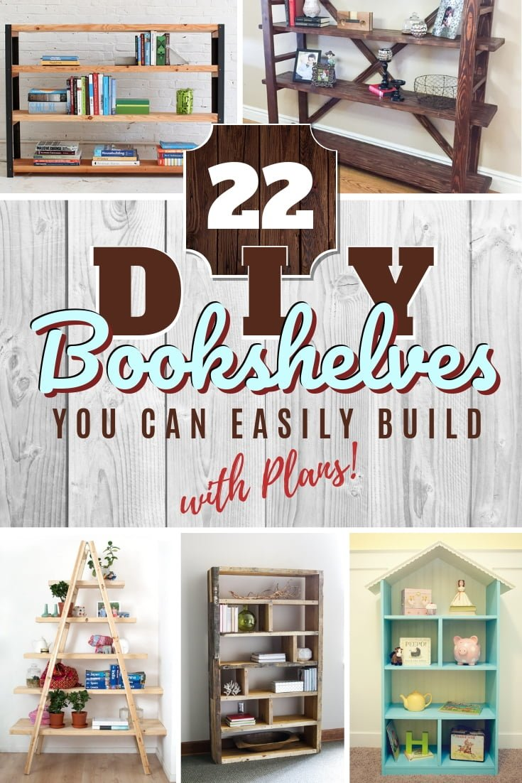 This is a great list for the next time you want to build an easy bookshelf that looks good! #DIY #homedecor #storage #organization