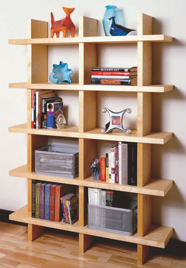 22 Easy DIY Bookshelf Ideas You Can Build at Home - How to make a  Wood Bookshelf