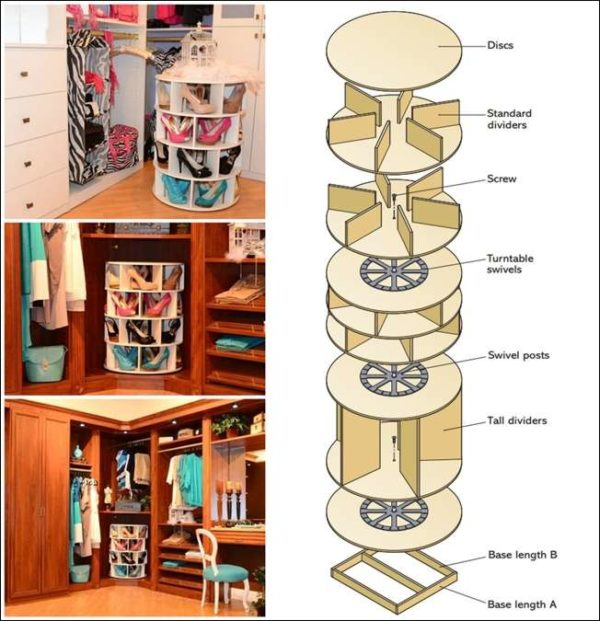 60+ Easy DIY Shoe Rack Ideas You Can Build on a Budget - How to make a  Wood Shoe Rack