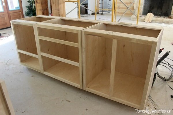 How to make  kitchen cabinets (with plans and a guide)