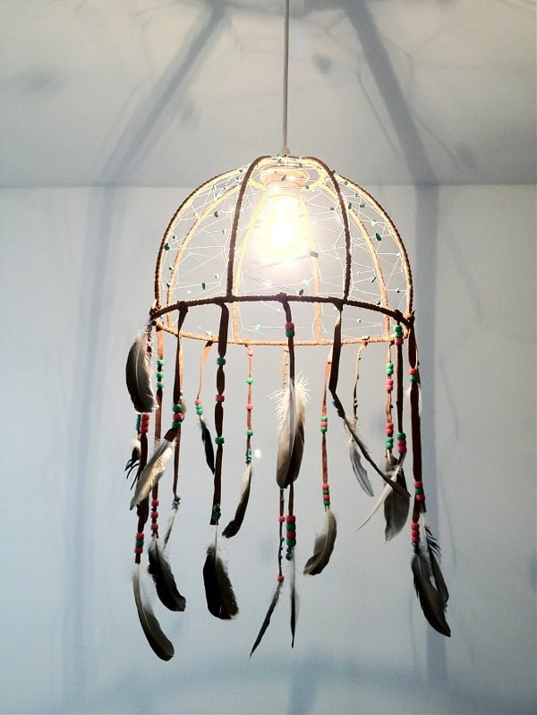 How to make a  over-lamp dreamcatcher