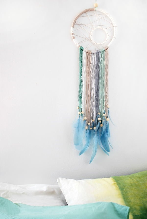 How to make a modern  dreamcatcher