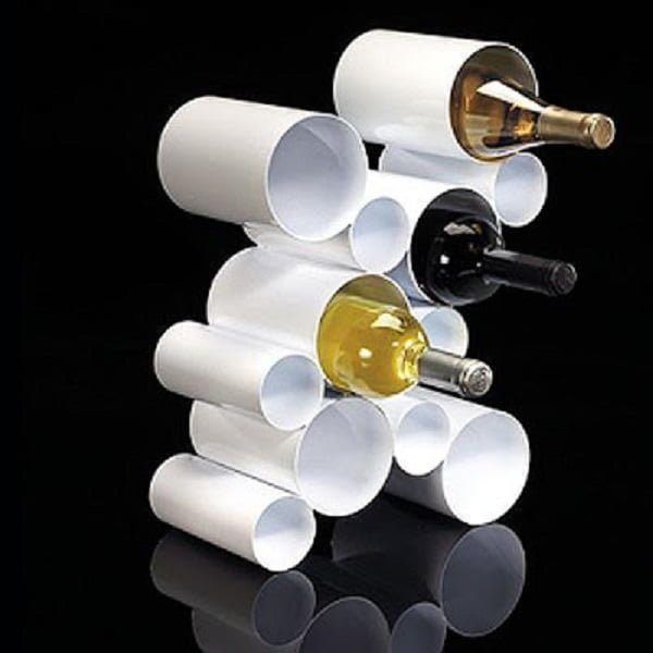 How to make  Wine Rack from PVC pipes