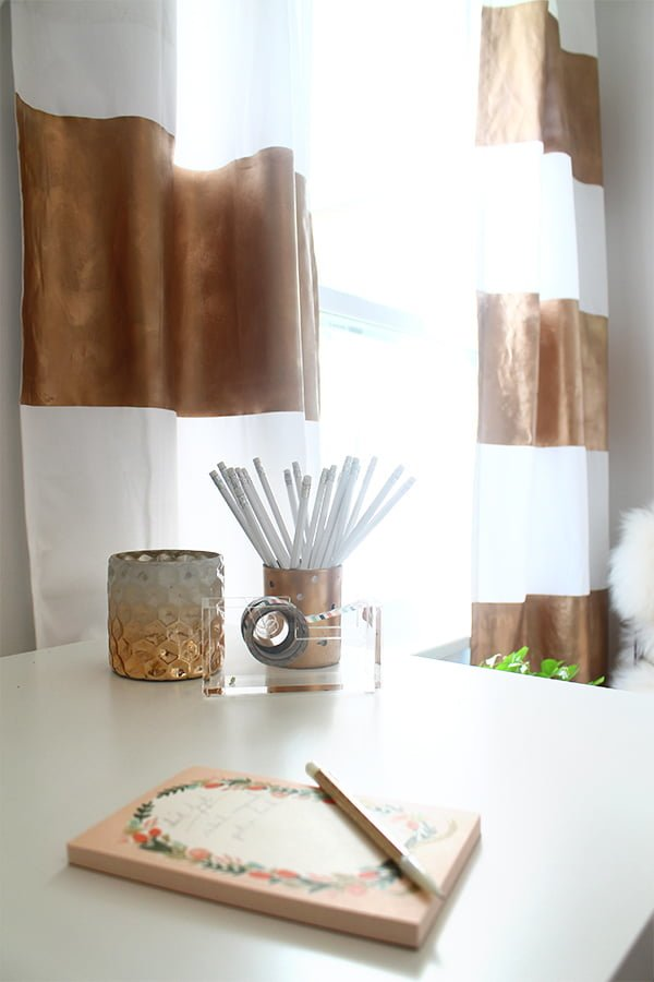How to make #DIY Roman Curtains #homedecor