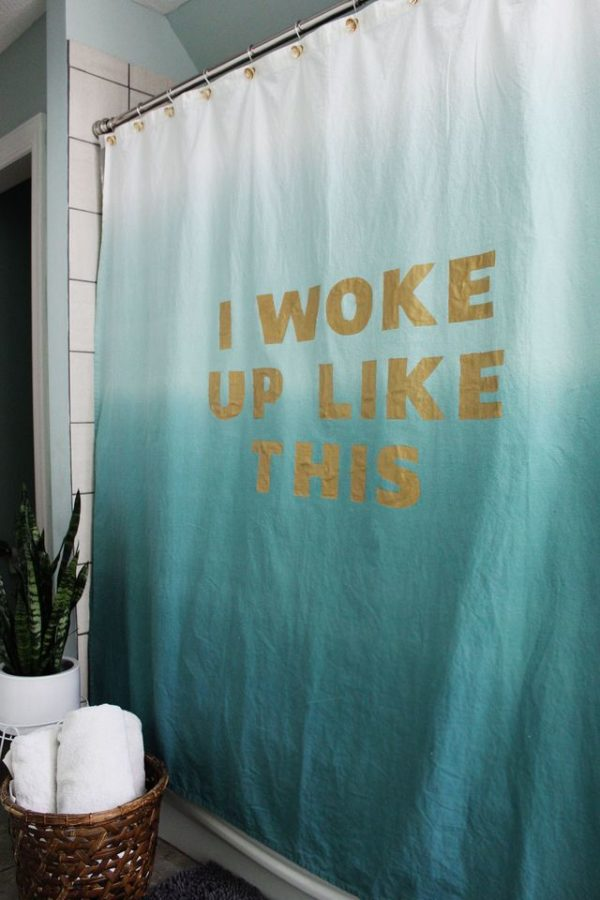 How to make  Shower Curtains