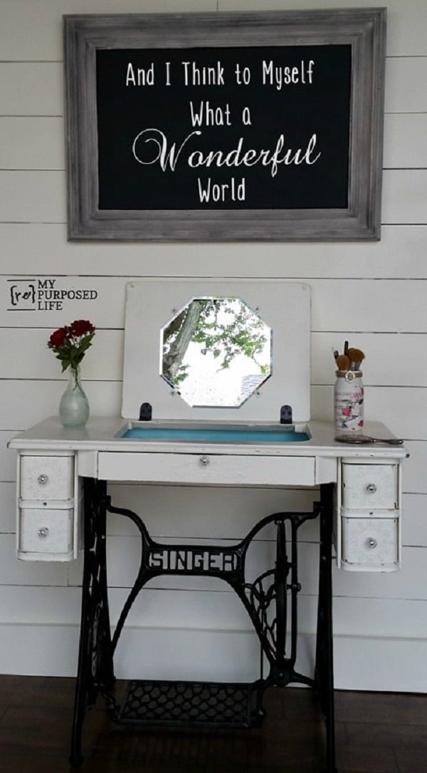 15 Diy Makeup Vanity Table Ideas