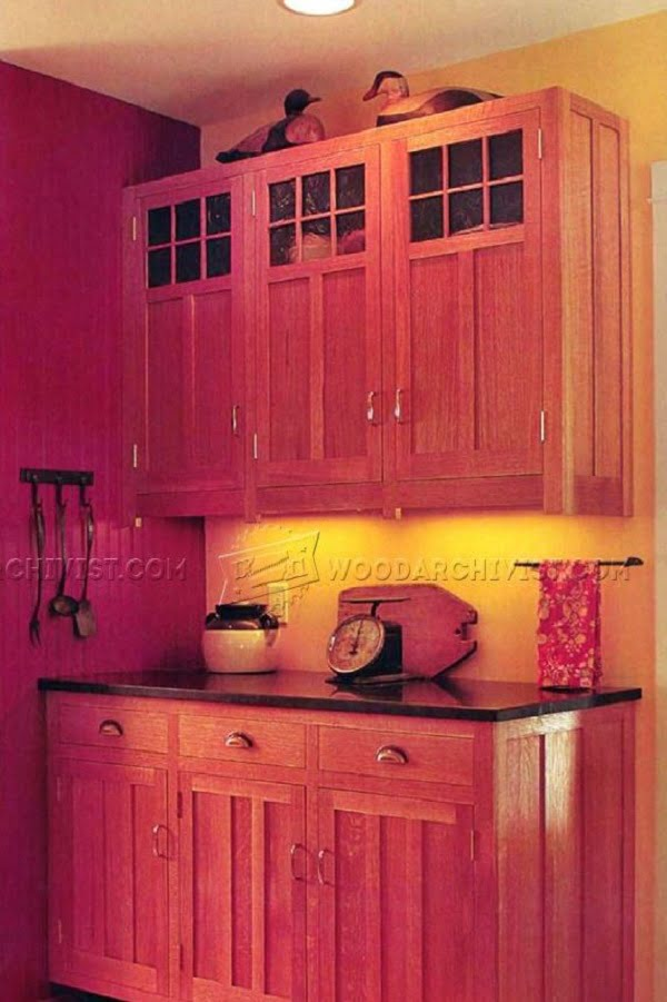 How to build  kitchen cabinets (with plans)