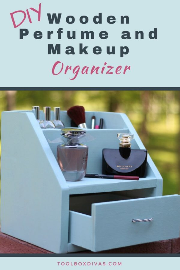 How to make a divine DIY drawer makeup organizer