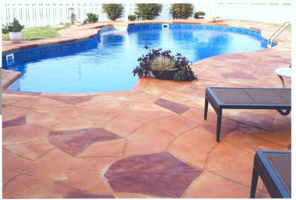 Cardinal concrete pool deck