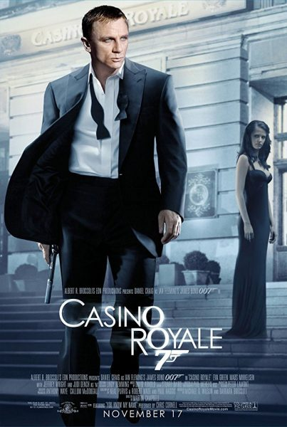 Casino Royale poster wall decor