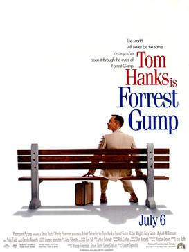 Forrest Gump poster wall decor