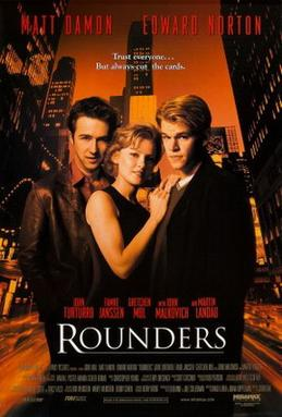 Rounders poster wall decor