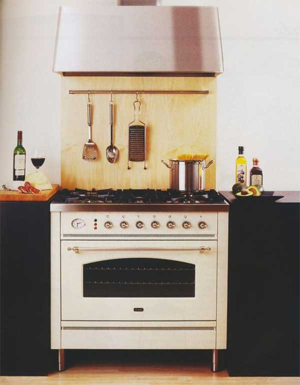 Vintage oven range