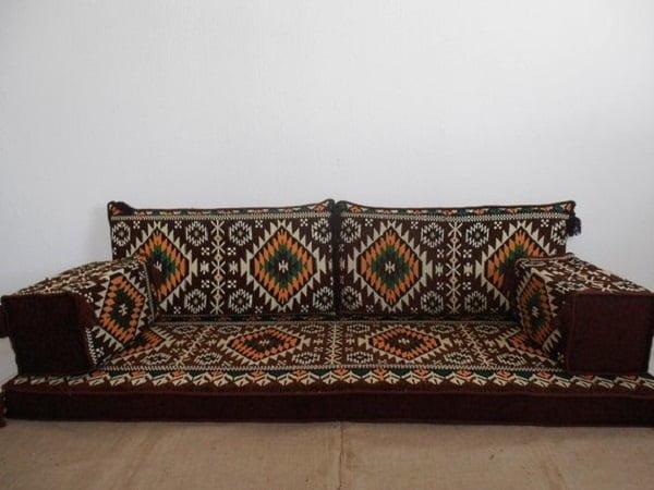 Arabic style floor sofa