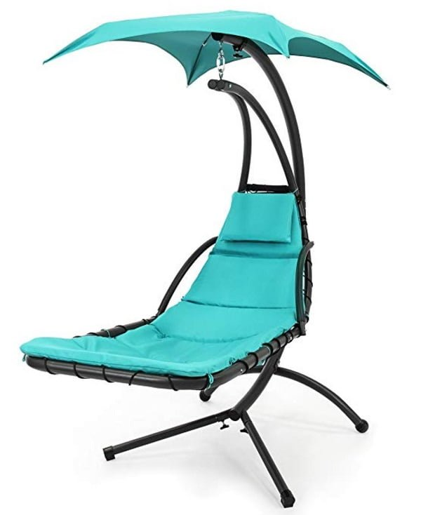 Best Choice Products outdoor porch hanging swing chair