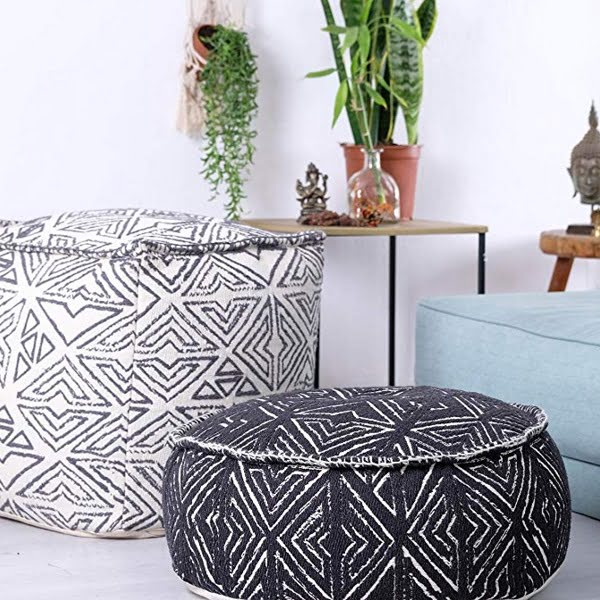 Bohemian floor cushion