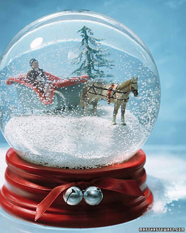 How to make a classic  snow globe