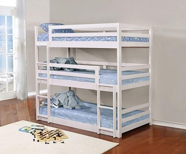 Coaster Home Furnishings triple trunk bed