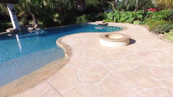 Planning a concrete pool deck