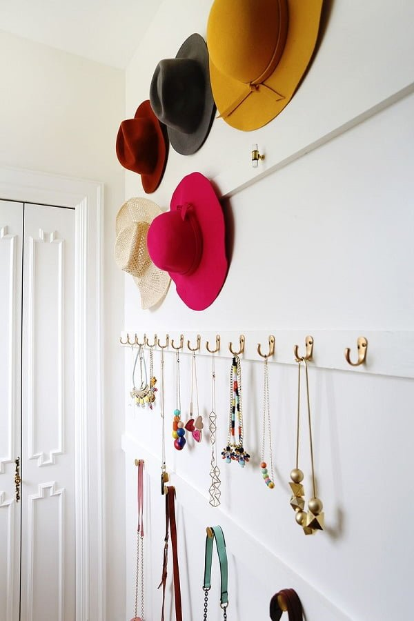 How to make a  closet accessory organizer